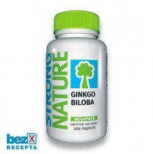Strong Nature Gingko Biloba-100, (megapack)
